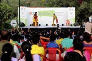 An international storytelling festival was held at Bhubaneswar for differently-abled children. (Instagram)