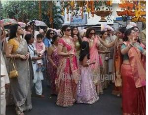 Isha Ambani wedding: Groom and the baraat arrive at venue