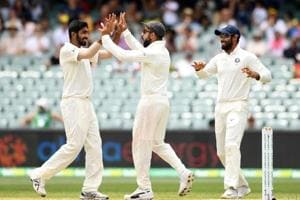 India beat Australia by 31 runs in the first Test of the four-match series in Adelaide.