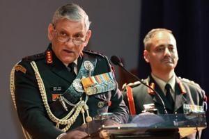 Chief of Army Staff General Bipin Rawat.