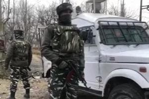 Firing has stopped at Baratkalan-Gund Mohalla of Sopore where an encounter started between security forces & terrorists, yesterday.