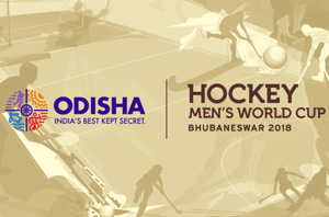 The 2018 Men's Hockey World Cup is being held at the Kalinga Stadium in Bhubaneswar.