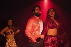 KGF song Gali Gali: This 80s Hindi song has been renditioned by Tanishk Bagchi and features Yash and Mouni Roy.