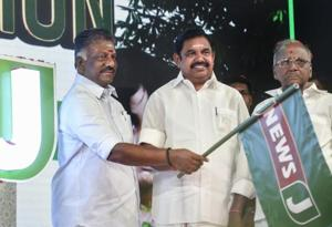 Chennai: Tamil Nadu Deputy Chief Minister O Panneerselvam (left) has been summoned by the panel probing the circumstances of the death of late Chief Minister J Jayalalithaa (File Photo)