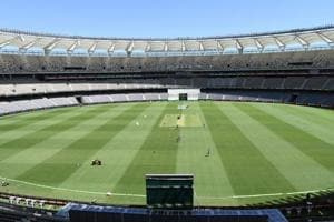 A general view of the Perth Stadium.