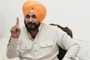 Punjab local government minister Navjot Singh Sidhu also gifted the CM a stuffed partridge brought from Pakistan.