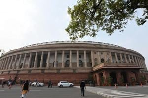 The Lok Sabha was adjourned Wednesday without transacting much business, the Rajya Sabha had passed a bill amid noisy scenes.