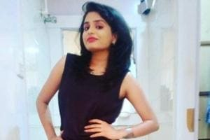 Radhika Kaushik, an anchor with Zee Rajasthan, fell off the balcony of her flat in tower N, Antriksh Forest society.