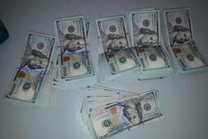 The US dollars were found hidden in clothes of an Afghan national who was caught at Delhi's IGI airport.