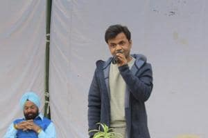 Actor Rajpal Yadav is serving a three-month jail sentence in Tihar jail. He performed during a cultural programme held for the prison inmates last Friday.
