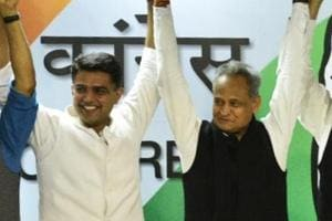Congress veteran Ashok Gehlot was picked to be Rajasthan's next CM and party leader Sachin Pilot will be the deputy chief minister.