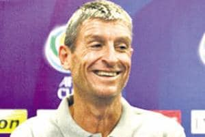 Trevor Morgan, former Kerla Blasters interim manager.