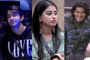 Bigg Boss 12: Rohit Suchanti, Somi Khan and Karanvir Bohra are nominated for evictions this week.
