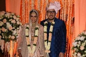 DineshVijan and Pramita Tanwar got married on Thursday.