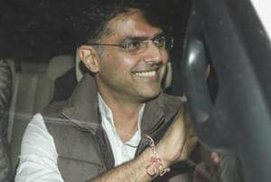 Sachin Pilot will be the first leader to take oath as deputy CM will take oath along with the CM.