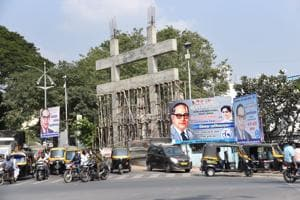 Nimbalkar's letter to all party presidents, MLA's and elected members in PMC has come at a time when the civic body has undertaken a drive against the illegal hoardings defacing the city
