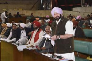 Moving the resolution on day two of the winter session, chief minister Amarinder Singh said his government has already reserved 50% seats for women in the urban local bodies and panchayati raj institutions.