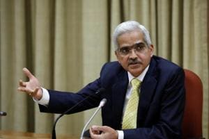 Shaktikanta Das, the new Reserve Bank of India (RBI) Governor, attends a news conference in Mumbai on December 12.