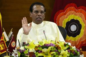 President Maithripala Sirisena sacked Prime Minister Ranil Wickremesinghe in October, just weeks after a little-known social activist alleged he had heard of a plot to assassinate the president from a police officer.