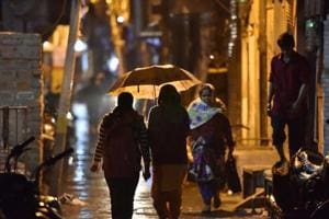 Delhi received light rain over the past 24 hours, giving the city its cleanest December air so far.