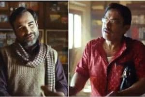 Pankaj Tripathi and Aamir Khan star in a new video together.