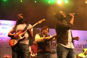 Tarkash band performs at a previous edition of the HT Palate Fest.