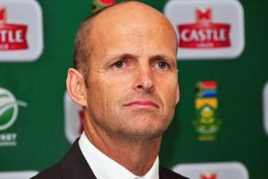 Gary Kirsten (Head Coach) during the South African national cricket team squad announcement and kit launch.