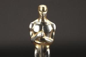 "This undated file image provided by Profiles in History shows the best picture Academy Award for ""Gentleman"