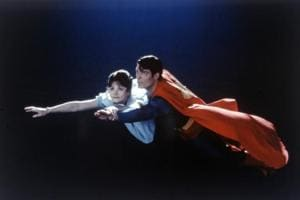 A first-of-its-kind Superman film starring Margot  Kidder and Christopher Reeve was released in 1978.