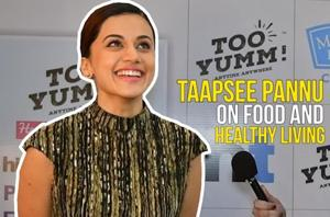 Taapsee Pannu on Delhi, her love for food, healthy living at HT Palate Fest...