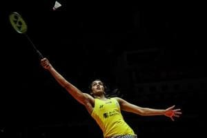 File picture of PVSindhu