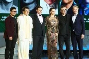 Aamir Khan with Jackie Chan, Johnny Depp, Juliette Binoche and Bond villain actor Mads Mikkelsen.