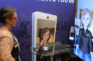 Millie is a life-size digital avatar created by a startup called Twenty Billion Neurons