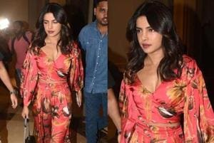 Not only are satin dresses a hit but also, satin separates are raising the style quotient of celebrities.