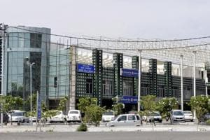 The move by the Yamuna Expressway Industrial Development Authority( office in photo), to develop smart villages along the Yamuna Expressway,  is aimed at appeasing farmers whose land is being acquired for the international airport  project at Jewar.