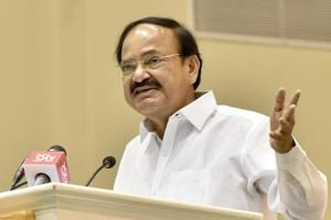 Vice president  M Venkaiah Naidu addressing a three-day conference on soft power in New Delhi on Monday.