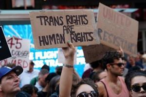 The transgender rights bill was first passed in the Rajya Sabha as a private member's bill by DMK MP Tiruchi Siva in 2015.