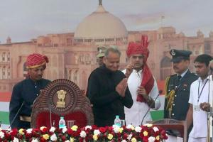 Rajasthan CM Ashok Gehlot on Tuesday ordered transfer of 40 IAS officials (File Photo)