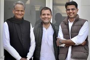 Rajasthan CMAshok Gehlot  will consult his deputy Sachin Pilot and Congress president Rahul Gandhi before finalising his cabinet.
