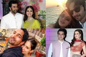 Several Bollywood couples have come out in the open about their relationship this year.