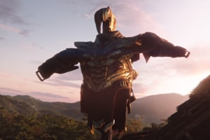 Thanos' armour in a still from the Avengers: Endgame trailer.