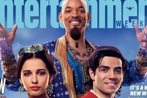Will Smith, Mena Massoud and Naomi Scott star in Guy Ritchie's live-action Aladdin.
