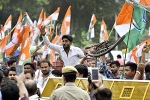 Called the 'Yuva Kranti Yatra', the march that began on Tuesday will proceed across the country and culminate in Delhi on January 30 on Martyr's Day, which marks the assassination of Mahatma Gandhi.