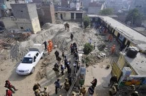 On December 17, two children died and three were severely injured after the boundary wall of Noida's New KM Public School collapsed. Officials say there are 174 illegal schools in the district.