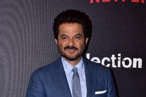 Anil Kapoor at the red carpet of Netflix Upcoming Series Selection Day in Mumbai.