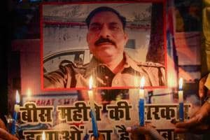 The family of inspector Subodh Kumar Singh, who was killed in Bulandshahr violence on December 3, has alleged that there was political pressure in the case due to which the arrest of the three main accused was being delayed.