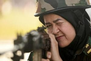 Photos: Indian Army trains Afghan women cadets in Chennai