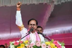 The poll of polls predicted 66 seats for the TRS. But the party won 88 seats and polled 46.9% votes which is a massive increase of over 12% as compared to 2014