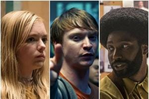 Stills from Eighth Grade, Bodied and BlackKklansman, three of the best films you need to see this year.