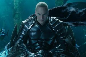 This image released by Warner Bros. Pictures shows Patrick Wilson in a scene from Aquaman.
